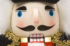 Christmas Nutcracker- close-up Stock Image