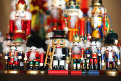 Christmas Nutcracker Collection Stock Photos