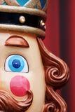 Christmas Nutcracker half-faced royalty free stock image