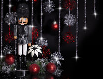 Christmas Nutcracker Houndstooth Jacket 2 Stock Images