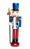 Christmas nutcracker warrior Royalty Free Stock Image