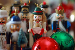 Christmas nutcrackers Royalty Free Stock Photo
