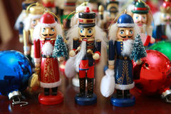 Christmas nutcrackers Royalty Free Stock Images