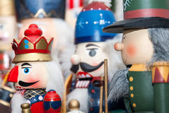 Christmas Nutcrackers Stock Photography