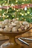 Christmas Nuts Stock Photo
