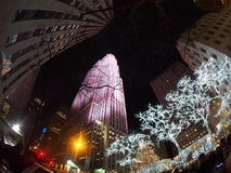 CHRISTMAS IN NYC Royalty Free Stock Photography