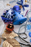 Christmas object. Image of various color traditional christmas objects Stock Image