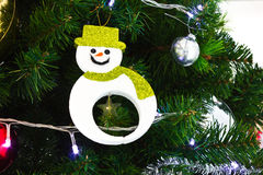 Christmas object color symbol Royalty Free Stock Image