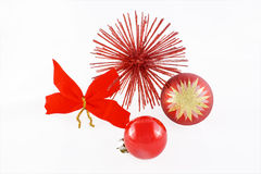 Christmas objects Stock Image