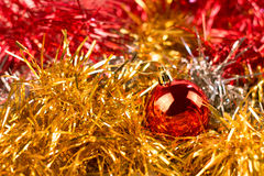 Christmas objects Stock Images