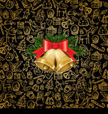 Christmas objects and elements Royalty Free Stock Photography