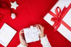 Christmas objects Royalty Free Stock Image