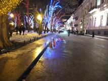 Christmas Odessa Royalty Free Stock Photography