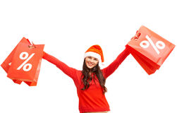 Christmas offer Stock Images