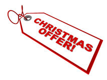 Christmas offer Stock Photos