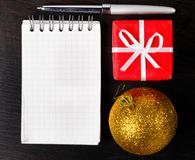 Christmas at office Royalty Free Stock Images