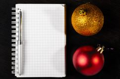 Christmas at office Stock Photography