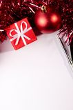 Christmas at office Royalty Free Stock Photography