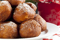 Christmas Oliebollen Royalty Free Stock Photo