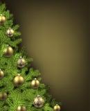 Christmas olive background Royalty Free Stock Photos