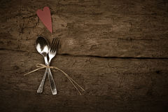 Christmas Or Valentines Day Rustic Background Stock Photography