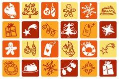 Christmas orange Stock Photos