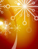 Christmas orange abstract background  Royalty Free Stock Photo
