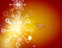 Christmas orange abstract background  Royalty Free Stock Photos