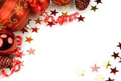 Christmas oranments Stock Image
