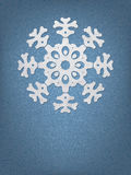 Christmas origami snowflake. + EPS8. Christmas origami snowflake background. + EPS8 vector file Vector Illustration