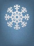 Christmas origami snowflake. + EPS8 Stock Image