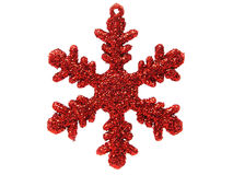 Christmas ornament. – isolated Royalty Free Stock Image