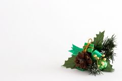 Christmas ornament. Isolated Stock Photo