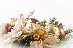 Christmas ornament. Picture of a christmas ornament isolated Stock Image