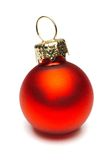 Christmas Ornament. Over white Stock Photography