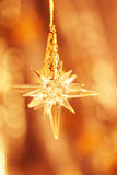 Christmas ornament. Star Royalty Free Stock Photos