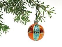 Christmas Ornament. Hanged Christmas ornament Stock Photography