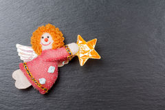 Christmas ornament: Annunciation Angel Gabriel Stock Photography