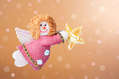 Christmas ornament: Annunciation Angel Gabriel Royalty Free Stock Photos