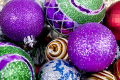 Christmas Ornament  Background Stock Image