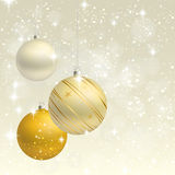 Christmas ornament  background card Royalty Free Stock Photography