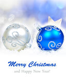 Christmas ornament background, Royalty Free Stock Photos