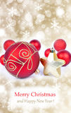 Christmas ornament background, Stock Images
