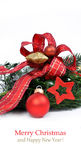 Christmas ornament background, Royalty Free Stock Photography