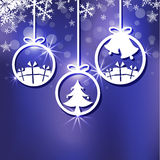 Christmas ornament background Stock Images