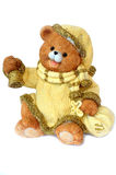 Christmas ornament bear cub Santa Claus Royalty Free Stock Images
