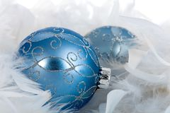 Christmas Ornament and Christmas Decoration. On background Stock Image