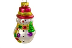Christmas ornament closeup. With copyspace Stock Photos