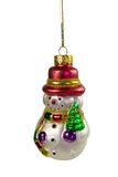 Christmas ornament closeup. With copyspace Stock Images
