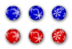 Christmas Ornament Collection Royalty Free Stock Photo